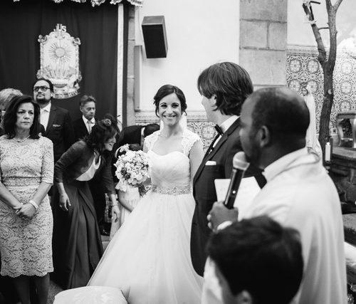 Aí vem a noiva...