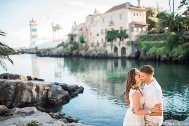 Fotografias de sessão de noivado em Cascais; Engagement photos in Cascais